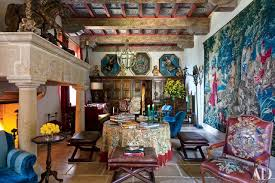 italian home interiors 19 romantic rooms in italian homes photos architectural digest
