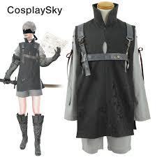 Halloween Costume Armor Aliexpress Buy Nier Automata 9s Yorha 9 Type Cosplay