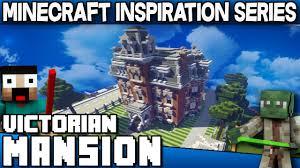 minecraft victorian mansion keralis inspiration series youtube