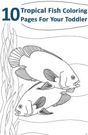 black and white fish coloring page fish kid activities and