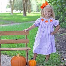 bishop halloween costume bishop smocked pumpkin two toned polka dot purple smocked auctions