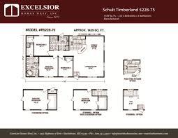 schult floor plans schult timberland 5228 75 modular manufactured home