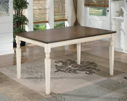 whitesburg rectangular dining table from ashley d583 25