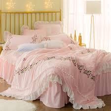 Girls Bed Skirt by Online Get Cheap White Ruffled Bed Skirt Queen Aliexpress Com
