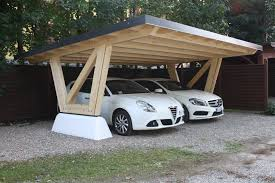 wood slat carport individuell geplant kreativ umgesetzt von
