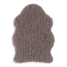 Schlafzimmer Teppich Taupe Teppich Crazy Shape Taupe 60x85 Cm Hochflor