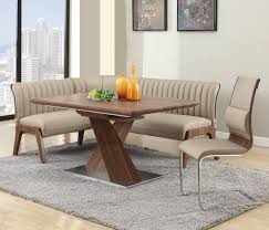 leather corner bench dining table set top 16 types of corner dining sets pictures