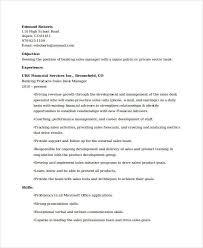 Resume Samples For Banking Sector by Banking Resume Samples 45 Free Word Pdf Documents Download