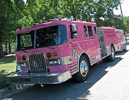 Lost Loved Ones To Cancer Pink Firetruck Honors Those Who Lost Loved Ones To Cancer
