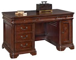 Small Executive Desks Hammary Home Office Small Executive Desk Traditional Desks And