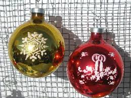 ornaments mercury glass balls shiny brite woolworth s