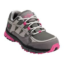 womens steel toe work boots near me s pink and grey steel toe shoe n1771
