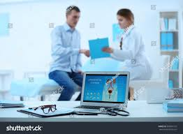 medical concept laptop urology image on stock photo 569051152