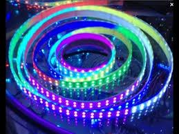 programmable led light strips dual row tm1812 ic digital programmable 5050 led strip lights youtube