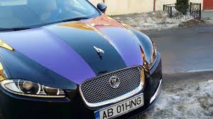 jaguar grill jaguar xf infoliat sticker purple pearl tuning youtube