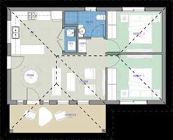 Granny Flats Floor Plans The Sahara