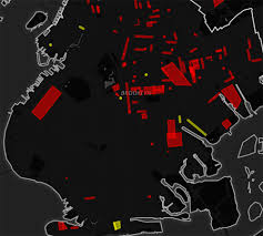 Blood And Crip Territory Map Brooklyn Gang Turf Mapped Brownstoner