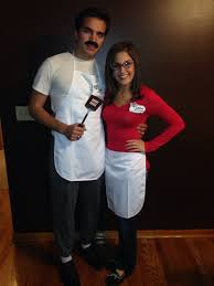 wanda halloween costume 17 couples whose halloween costumes are perfect soap and loofah