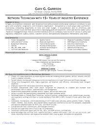 Metro Pcs Resume Network Technician Resume Samples Network Technician Sample