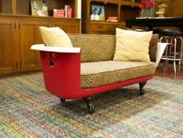 Make A Sofa by Top 10 Ways To Recycle And Reuse Bathtubs The Top 10 Of Anything