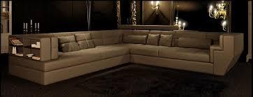tres grand canap d angle canapé angle en cuir vachette blanc
