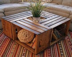 Wine Crate Coffee Table Diy by 11 Best First Apartment Diy Images On Pinterest Home Projects