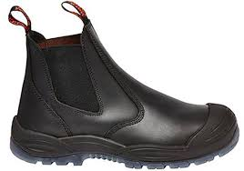 yakka s boots yakka mens utility gusset pull up safety steel toe boots