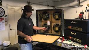 Marshall 412 Cabinet Diy How To Install Speakers In A 4x12 Cab Part 2 Youtube