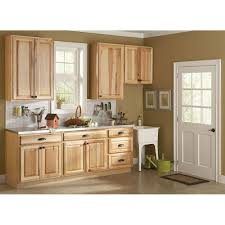 Hickory Kitchen Cabinet by Hampton Bay 36x30x12 In Wall Kitchen Cabinet In Natural Hickory