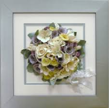 wedding flowers paperweight precious petals wedding flower preservation and framing company