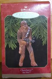 hallmark keepsake ornament wars chewbacca wookie 1999 new in