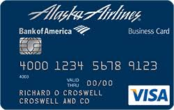 Best Business Credit Card Deals Alaska Airlines Visa Business Credit Card From Bank Of America