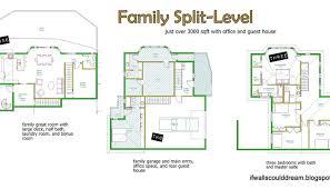 small guest house floor plans split level house floor plans luxamcc org