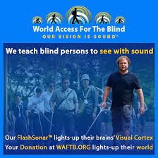 World Access For The Blind Fundraiser By Kevin Lowe Help Kevin See Again In A New Way