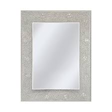 amazonsmile head west crystal mosaic rectangle mirror 23 1 2 by