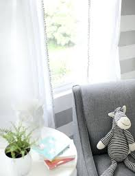 Curtains With Pom Pom Trim Curtains With Pom Pom Trim Soft Whisper Linen Curtain Panels With