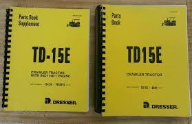 international dresser td15e dozer crawler engine u0026 chassis parts
