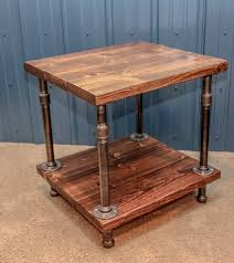 How To Build Wood End Tables best 25 industrial side table ideas on pinterest industrial