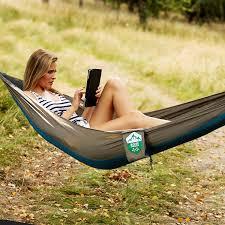 Woodsman Hammock Amazon Com Portable Hammock 11 6 Oz Packed 8ft 2in Ultra Small