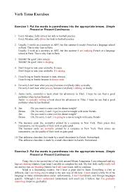 worksheet on simple past tense with answers austsecure com