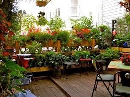 balcony garden design ideas garden terrace ideal small space