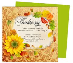 thanksgiving invitation templates diabetesmang info