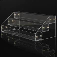 3 tiers 20 bottles acrylic nail polish organizer clear separable