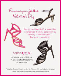 boutique inauguration invitation romance your feet this valentine u0027s day with sophie cox quincy