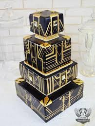 art deco gatsby 1920s wedding inspiration black and gold great
