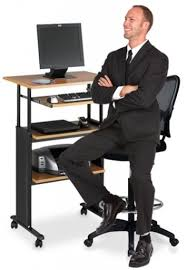 Standing Desk Chairs Desks Standing Desk And Chair Stand Up Workstations For The