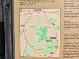 National Parks In Utah Map by Grandpa Bill And Black Beauty Travel Canyonlands National Park