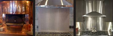A Consumers Guide To Metal Kitchen Backsplashes - Metal backsplash