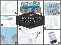 Baby Shower Theme Decorations Baby Boy Shower Party Decorations Jessy Melissa