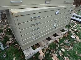 blueprint flat file cabinet lot detail 5 drawer safco map blueprint flat file cabinet w